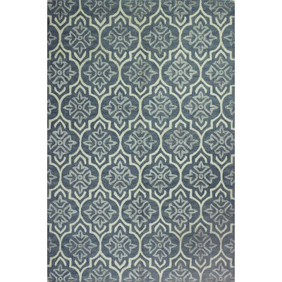 Bentley Hand-Tufted Light Blue Area Rug Rug Size: 5 x 76
