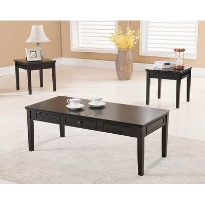 Lisbon 3 Piece Coffee Table Set
