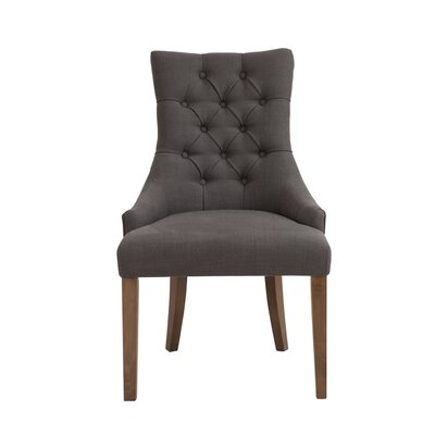 Collinsville Side Chair Upholstery: Gray