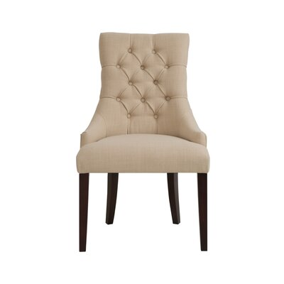 Collinsville Side Chair Upholstery: Cream