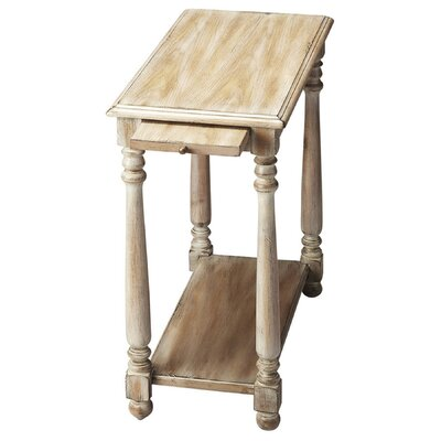 Heisler Console End Table Color: Driftwood