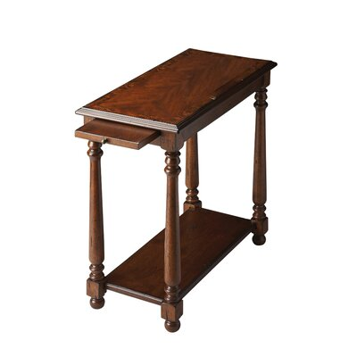 Heisler Console End Table Color: Distressed Castlewood