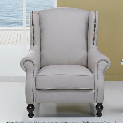 Cushman Armchair Color: Beige