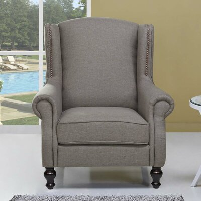 Cushman Armchair Upholstery: Cappuccino