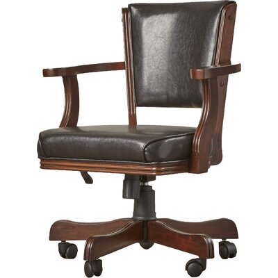 Bridgeforth Bankers Chair Upholstery: Chestnut