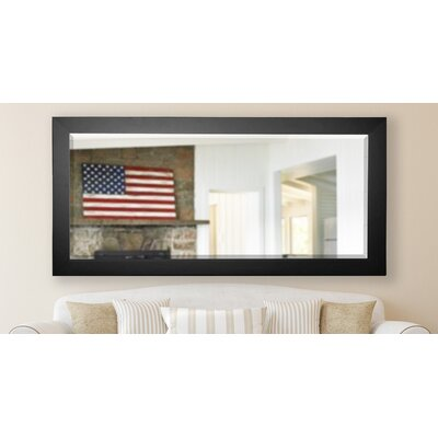 Eldridge Wall Mirror Frame Color: Black