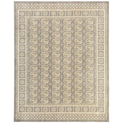 Kinsley Gray Area Rug Rug Size: Rectangle 53 x 710
