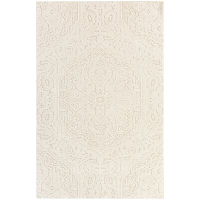 Murrayville Cream Area Rug Rug Size: 5' x 8'
