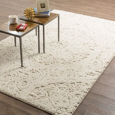 Murrayville Cream Area Rug Rug Size: 8 x 10