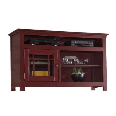 Julee 54 TV Stand Color: Red