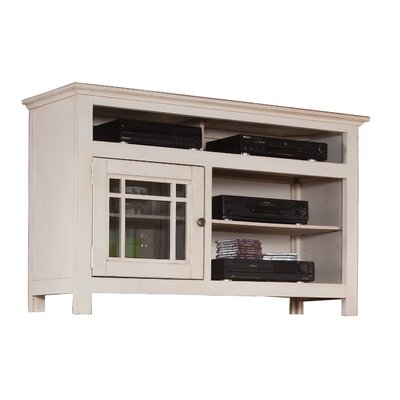 Julee 54 TV Stand Color: White