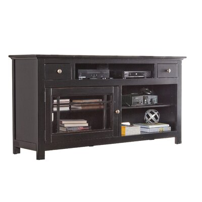 Julee 64 TV Stand Color: Black