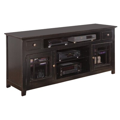 Julee 74 TV Stand Color: Black