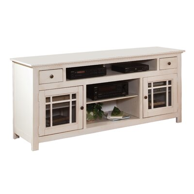 Julee 74 TV Stand Color: Antique White