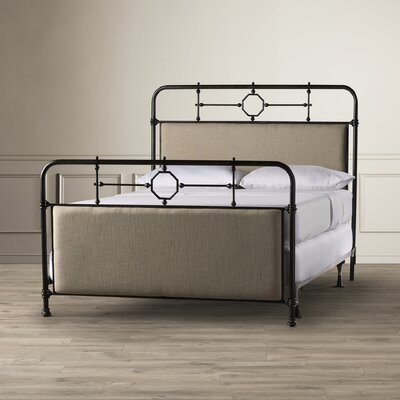 Hughley Upholstered Panel Bed Size: King