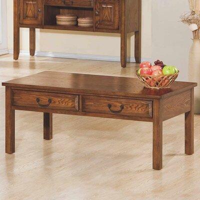 Schueller Coffee Table Color: Medium Oak