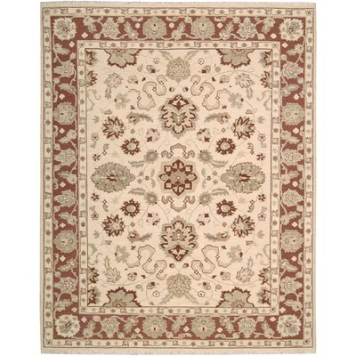 Heintzelman Hand-Woven Beige Area Rug Rug Size: Rectangle 710 x 910