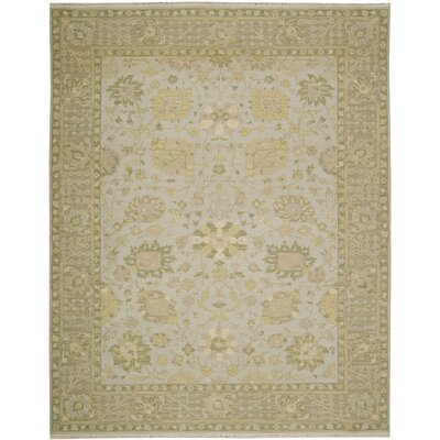 Cullen Hand-Woven Mist Area Rug Rug Size: Rectangle 12 x 18