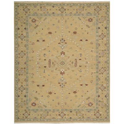 Cullen Hand-Woven Toffee Area Rug Rug Size: Rectangle 12 x 18