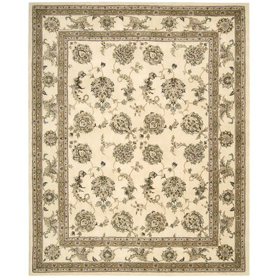 Media Hand-Tufted Ivory Area Rug Rug Size: Rectangle 79 x 99