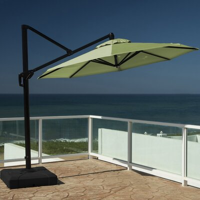 10 Cantilever Umbrella Fabric: Ginkgo Green
