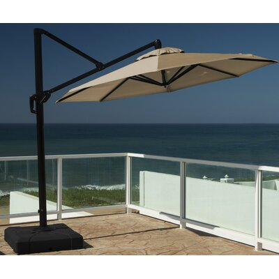 10 Cantilever Umbrella Fabric: Heather Beige
