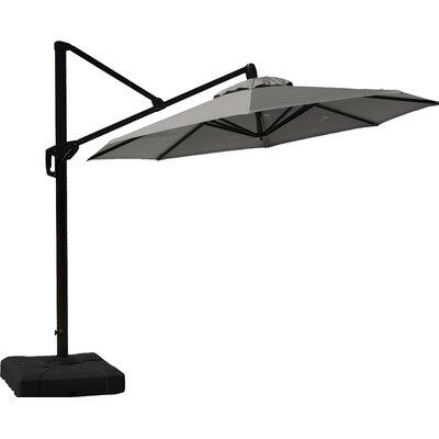 10 Cantilever Umbrella Fabric: Charcoal Grey