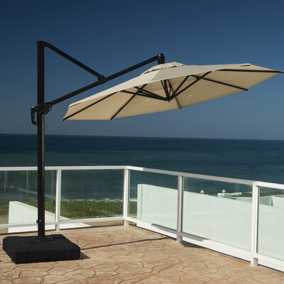 10 Cantilever Umbrella Fabric: Slate