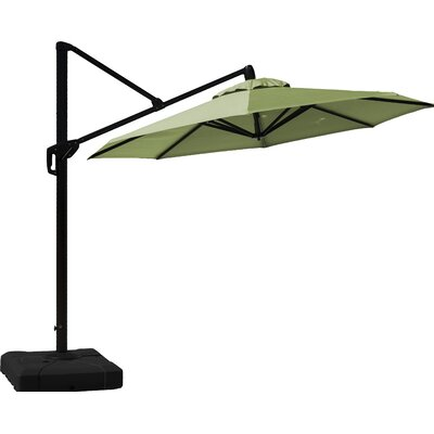 10 Cantilever Umbrella Fabric: Ginkgo Green
