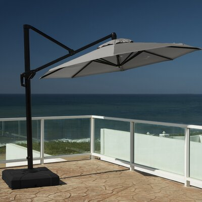 10 Cantilever Umbrella Fabric: Charcoal Grey