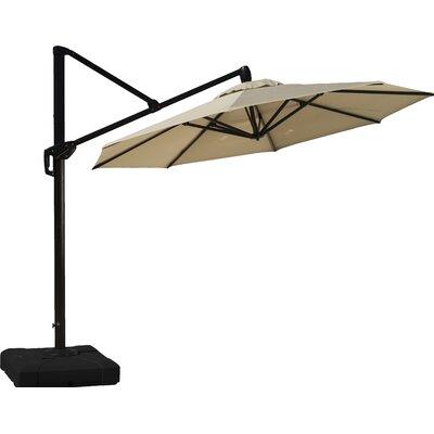 10 Cantilever Umbrella Fabric: Slate