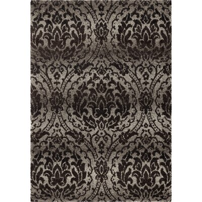 Decatur Gray Area Rug Rug Size: 53 x 76