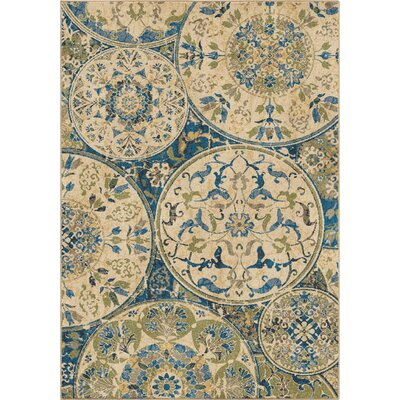 Moille Area Rug Rug Size: 53 x 76