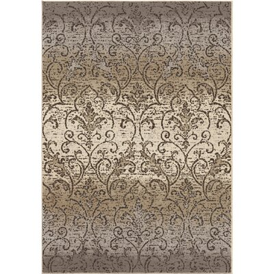 Du Bois Gray/Ivory Area Rug Rug Size: 710 x 1010