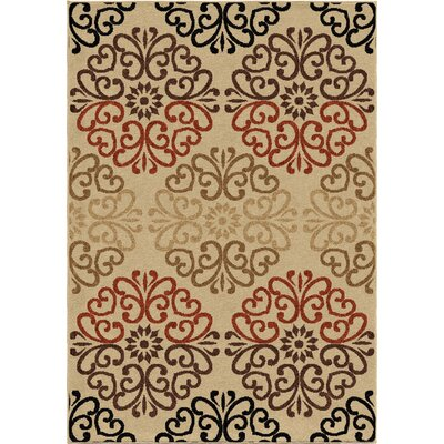 Dubuque Indoor/Outdoor Area Rug Rug Size: 52 x 76