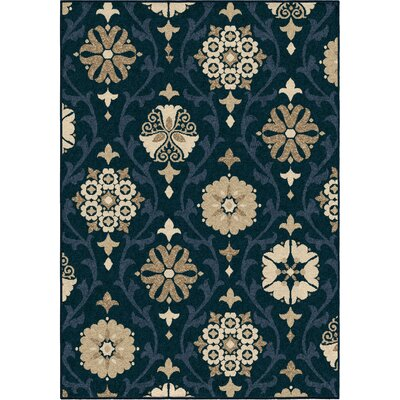 Dubuque Blue Indoor/Outdoor Area Rug Rug Size: 52 x 76