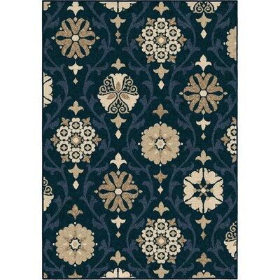Dubuque Blue Indoor/Outdoor Area Rug Rug Size: 78 x 1010