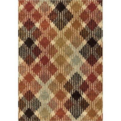 Menominee Shag Area Rug Rug Size: 53 x 76