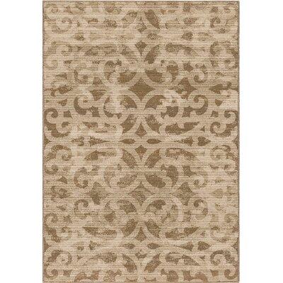 Mokena Ivory/Tan Area Rug Rug Size: 7'10 x 10'10