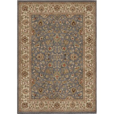 Detroit Gray Area Rug Rug Size: 53 x 76