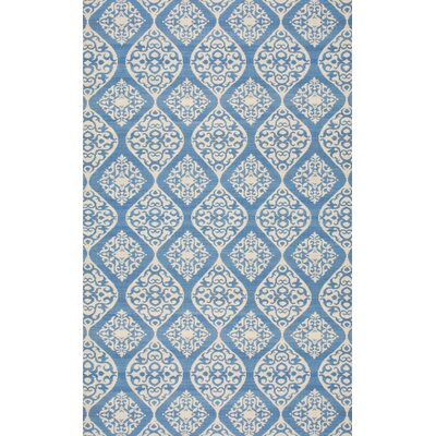 Antwerp Blue Area Rug Rug Size: Rectangle 76 x 96
