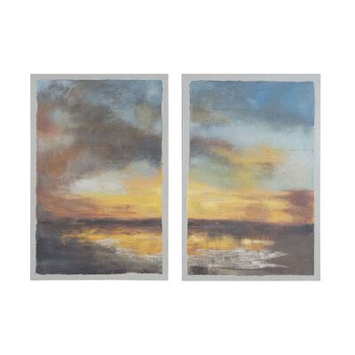 Eventide 2 Piece Painting on Canvas Set