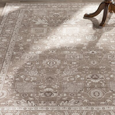 Harwood Brown/Brown Area Rug Rug Size: Rectangle 67 x 9