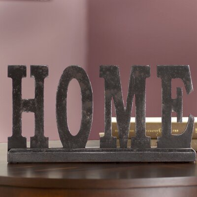 Golding Table Top Home Letter Block