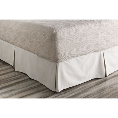 Spencer Bed Skirt Size: California King