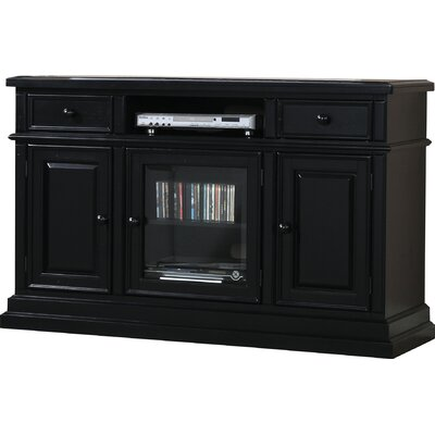 Snyder Media TV Stand Finish: Ebony
