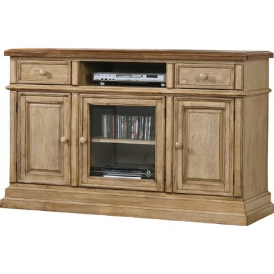 Snyder 55 TV Stand Color: Almond / Wheat