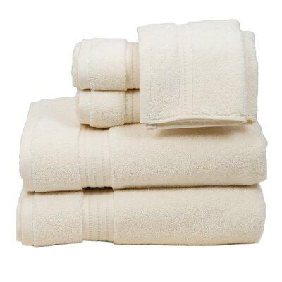 Morton Cotton 6 Piece Towel Set Color: Ivory