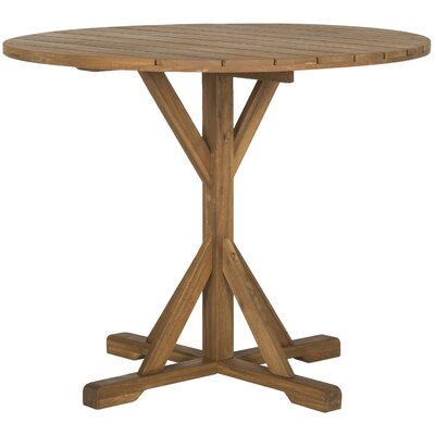 Babineaux Dining Table Finish: Teak