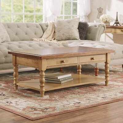 Ivesdale Coffee Table Color: Almond / Wheat